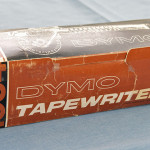 The Dymo Tapewriter 1054