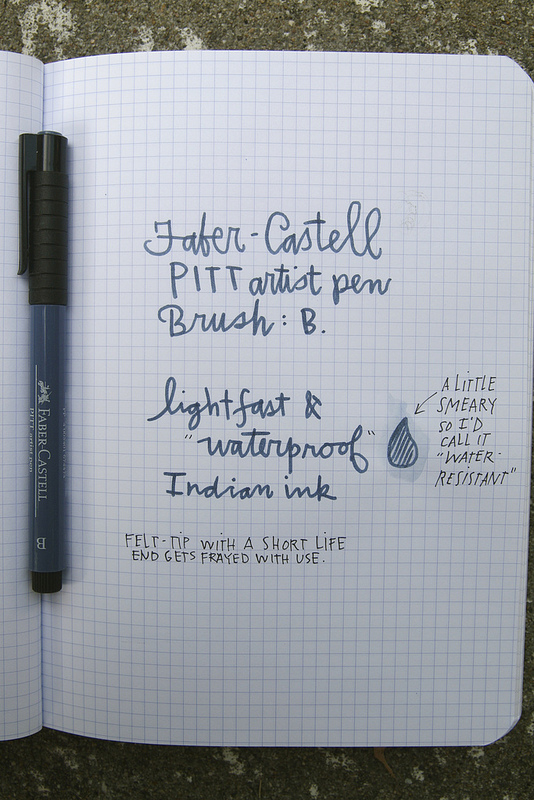 Faber-Castell PITT Artist Pen Brush