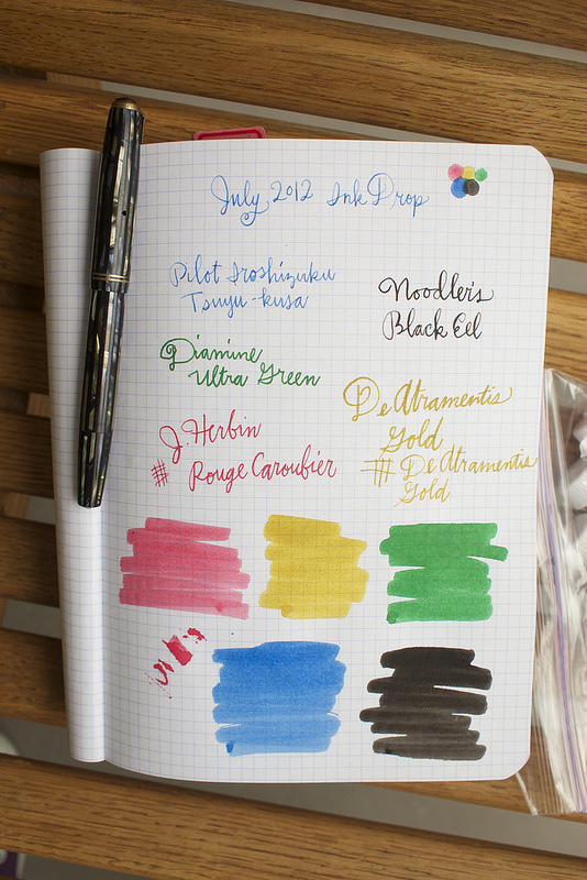 July Ink Drop 2012