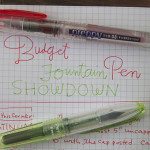 Budget Fountain Pen Showdown