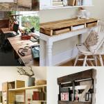 Rustic Pallet Desks
