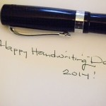 Happy Handwriting Day!