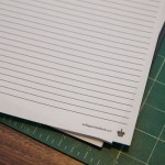 Turn a Blank Notebook into a Lined Notebook