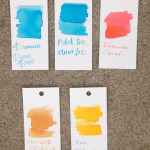 Three Drops in One: April, May and June Ink Drops