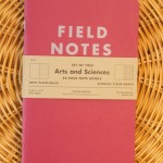 "Field Notes Colors Edition ""Arts & Sciences"""