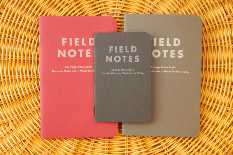 Field Notes Arts & Sciences Edition size comparison