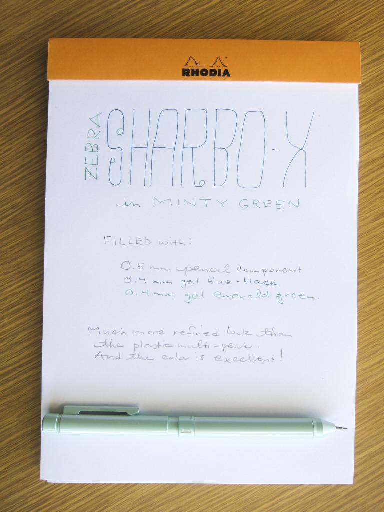 Sharbo X writing sample