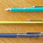 Review: Pocketable Pens from Zebra, Pilot and Pentel