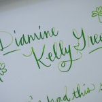 Review: Diamine Kelly Green Ink