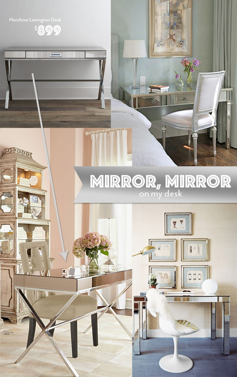 mirror desks