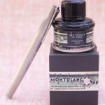 Ink Review: MontBlanc Meisterstück 90 Years Permanent Grey