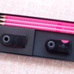 Faber-Castell Neon Pink Pencil Set