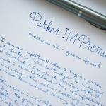 Parker IM Premium Fountain Pen: Emerald Pearl M Nib