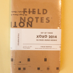 "Field Notes XOXO 2014 ""Glitch"" Edition"