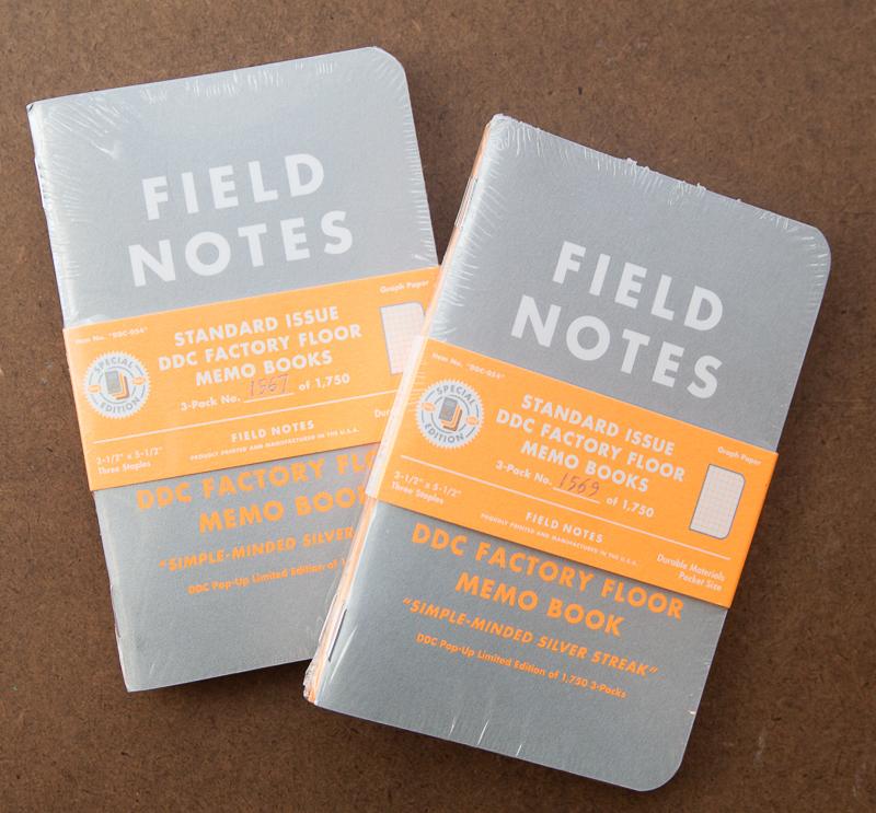 Field Notes DDC Factory Floor Silver Streak