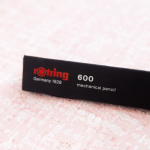 Review: Rotring 600 0.5mm Mechanical Pencil