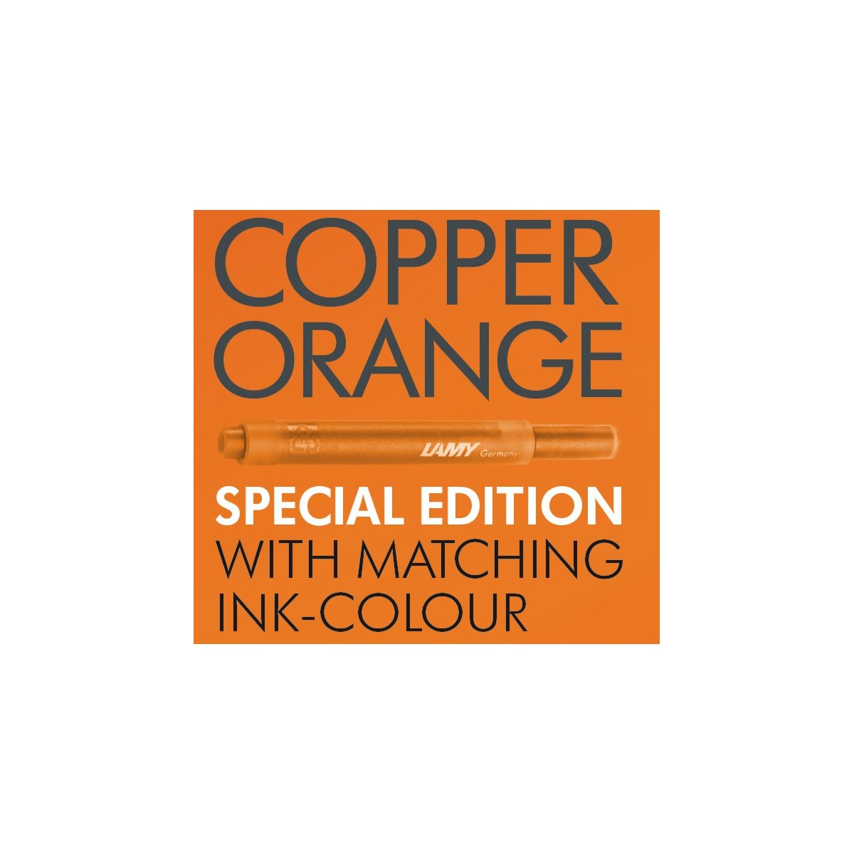 Lamy Al-Star Copper Orange Ink