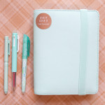 Kikki-K 2015 Medium Time Planner in Mint