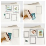 Postage Frame Stamps from Anticipate Invitations
