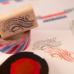 Giveaway: Letter-Centric Rubber Stamps from The Well-Appointed Desk