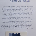 Ink Review: Kaweco Midnight Blue
