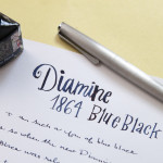 Ink Review: Diamine 150 Years 1864 Blue Black