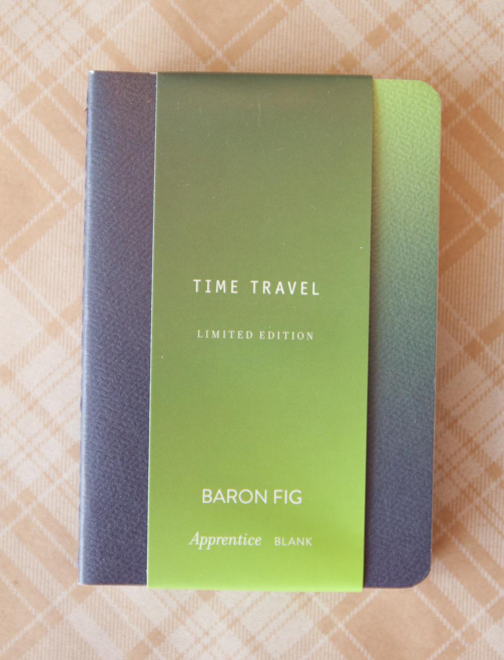 Baron Fig Apprentice Time Travel Edition