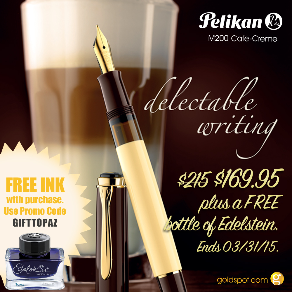 Goldspot Pelikan M200 Cafe Creme