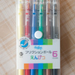 "Review: Pilot Frixion ""Color-Pencil-Like"" Pen Set"