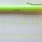 Pen Review: Lamy Safari Neon Lime (2015 Special Edition)