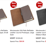 News: Pelle Notebooks and Blackwing Subscriptions