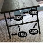Desk Set: DIY Pipe Desk