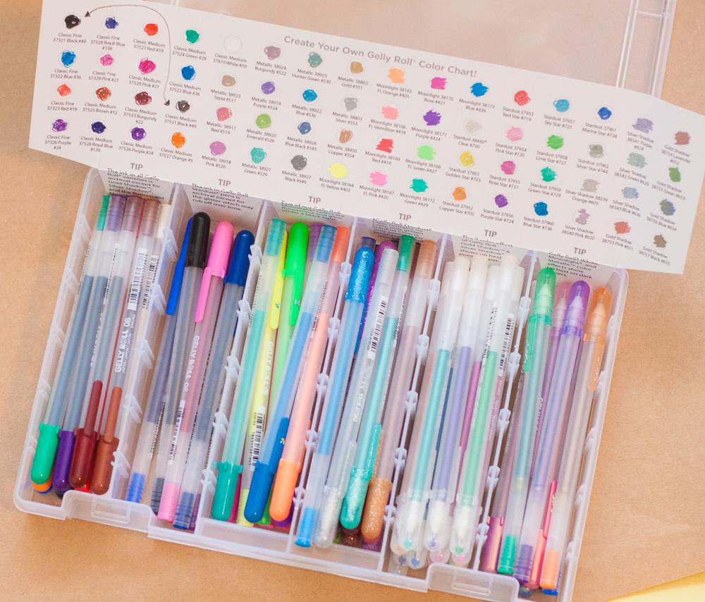 Pen Review Gelly Roll 64 Piece Gel Pen Set The Well