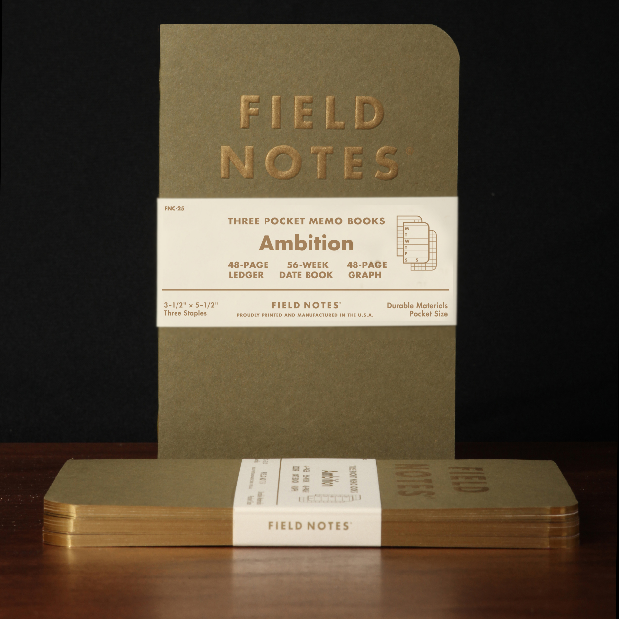 Field Notes Ambition Winter Colors Edition Is Out The Well