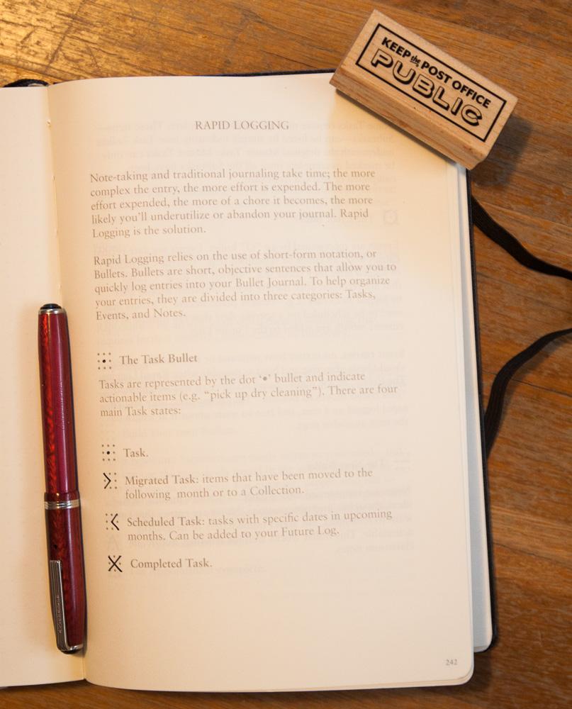 Kickstarter Leuchtturm 1917 Bullet Journal Notebook The