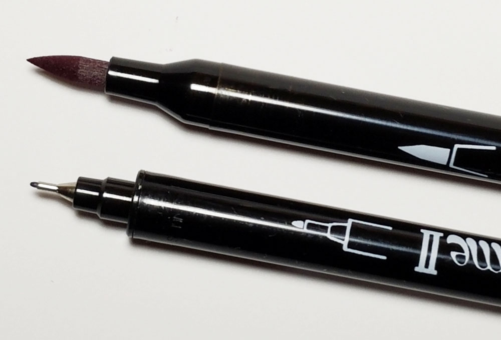 Review marvy leplume ii brush markers u the well appointed desk