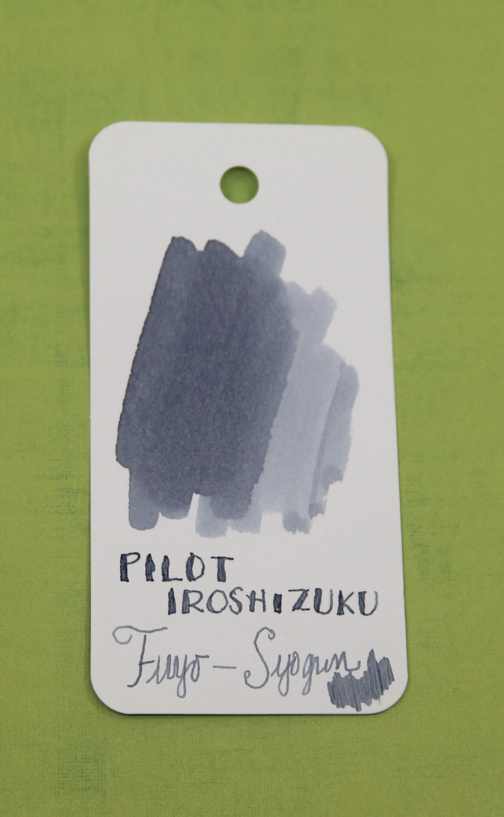 Ink Review Pilot Iroshizuku Fuyu Syogun The Well Appointed Desk